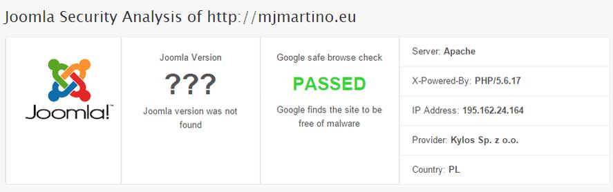 HackerTarget free scan malware