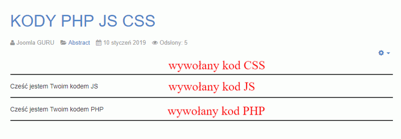 artykul php js css