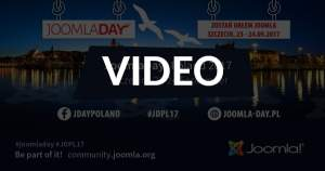 Joomla Day Poland 2017 - Szczecin 23-24.09.2017 (video)